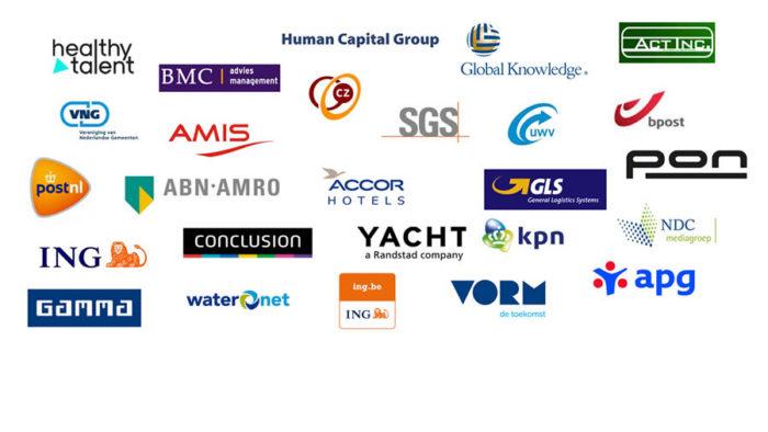 Logo's van bedrijven waarvoor we gewerkt hebben